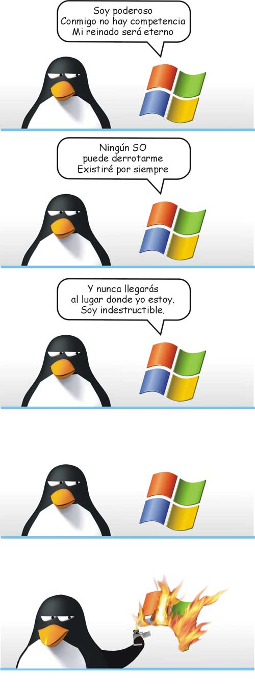 Gran post:  Windows Vs. Linux... Muy bueno.